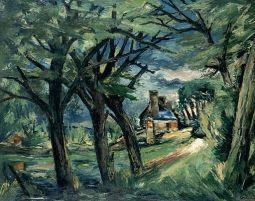 Le parc(Touraine) (1942)